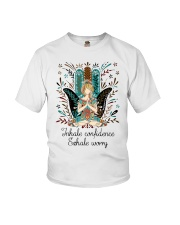Inhale confidence Youth T-Shirt thumbnail
