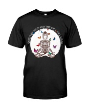 Quiet the mind Classic T-Shirt thumbnail