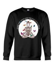 Quiet the mind Crewneck Sweatshirt thumbnail