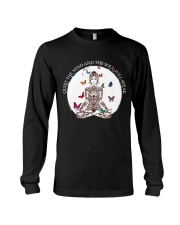 Quiet the mind Long Sleeve Tee thumbnail