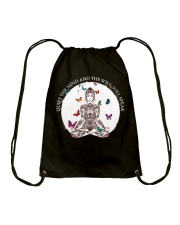 Quiet the mind Drawstring Bag thumbnail