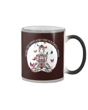 Quiet the mind Color Changing Mug thumbnail