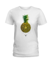 Pineapple Ladies T-Shirt front