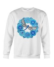 Mandala Dragonfly Crewneck Sweatshirt thumbnail
