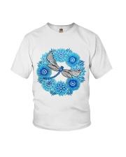 Mandala Dragonfly Youth T-Shirt thumbnail
