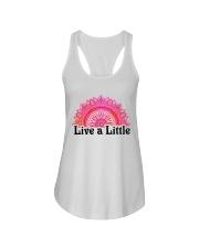 Live a little Ladies Flowy Tank thumbnail