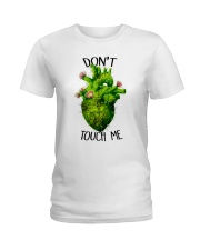 Don't Touch Me Ladies T-Shirt front