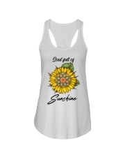Soul full of sunshine Ladies Flowy Tank thumbnail