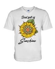 Soul full of sunshine V-Neck T-Shirt thumbnail