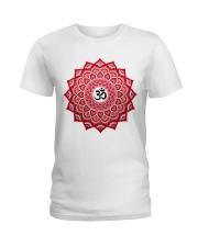 Om Mandala Ladies T-Shirt front
