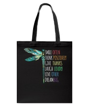 Smile often-Think positively-Dream big  Tote Bag thumbnail