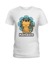 Namaste Cat Ladies T-Shirt front