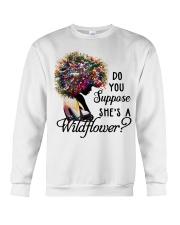 She's a wildflower Crewneck Sweatshirt thumbnail