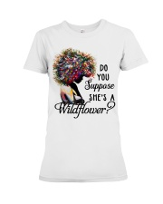 She's a wildflower Premium Fit Ladies Tee thumbnail