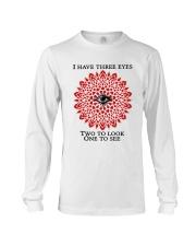 I have three eyes Long Sleeve Tee thumbnail