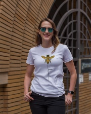 Bee kind Ladies T-Shirt lifestyle-women-crewneck-front-2