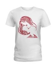 Namaste mom Ladies T-Shirt front