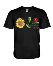 Faith grow  from little seed of hope V-Neck T-Shirt thumbnail