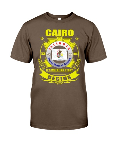 Cairo-IL place my story began Shirt