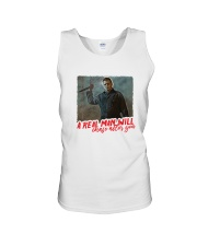 Michael Myers A Real Man Will Chase After You  Unisex Tank thumbnail