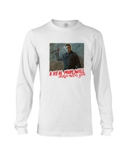Michael Myers A Real Man Will Chase After You  Long Sleeve Tee thumbnail