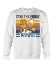 Mountain Guinea Pig Save the furry potato shirt Crewneck Sweatshirt tile