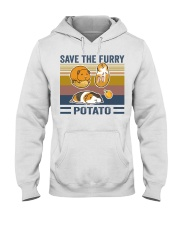 Mountain Guinea Pig Save the furry potato shirt Hooded Sweatshirt thumbnail