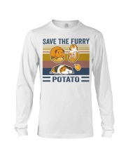 Mountain Guinea Pig Save the furry potato shirt Long Sleeve Tee thumbnail