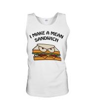 I make a mean sandwich shirt Unisex Tank thumbnail