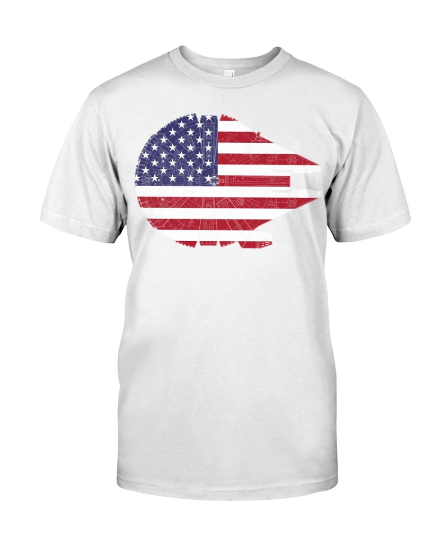 America Millennium Falcon shirt Classic T-Shirt