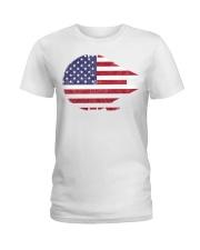 America Millennium Falcon shirt Ladies T-Shirt thumbnail