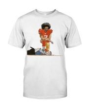 Colin Kaepernick i can't breathe shirt Classic T-Shirt front