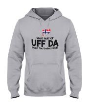 UFFDA WHITE Hooded Sweatshirt thumbnail