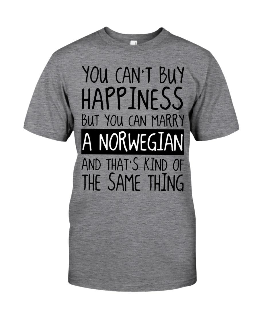 Happiness - norwegian Classic T-Shirt