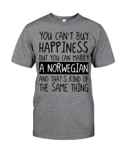 Happiness - norwegian Classic T-Shirt front