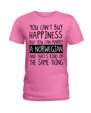 Happiness - norwegian Ladies T-Shirt thumbnail