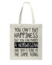 Happiness - norwegian Tote Bag thumbnail