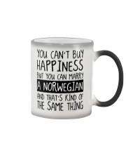 Happiness - norwegian Color Changing Mug thumbnail