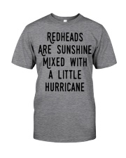 Readheads are sunhine Classic T-Shirt front