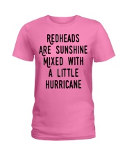 Readheads are sunhine Ladies T-Shirt thumbnail