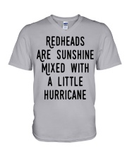Readheads are sunhine V-Neck T-Shirt thumbnail