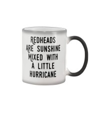 Readheads are sunhine Color Changing Mug thumbnail