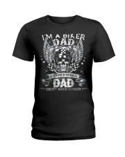 Im A Biker Dad Like A Normal Dad Just Much Cooler  Ladies T-Shirt thumbnail