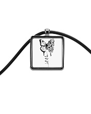 Let It Be Cord Rectangle Necklace thumbnail