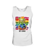 Be Kind In A World Unisex Tank thumbnail