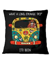 What A Long Strange Trip Square Pillowcase thumbnail