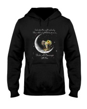 When The Night Is Cloudy Hooded Sweatshirt front