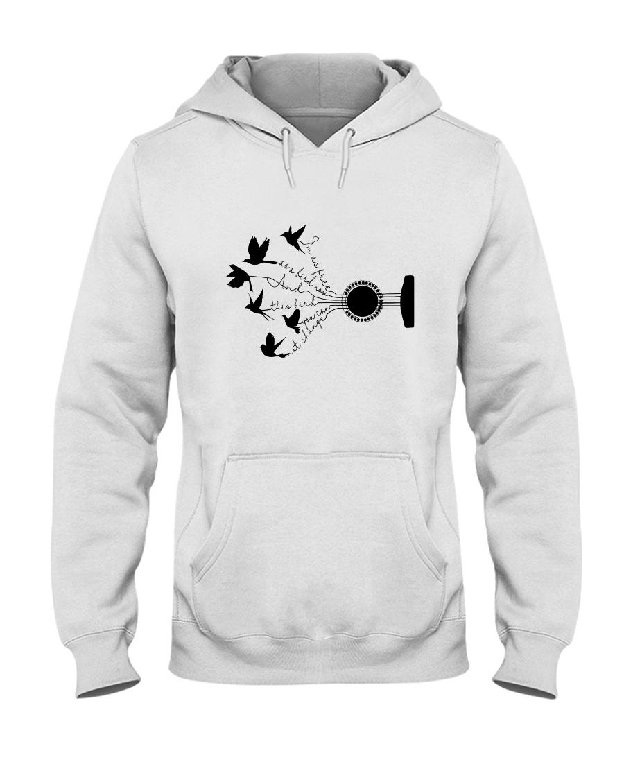 I Am As Freedom As A Bird 5 Hooded Sweatshirt