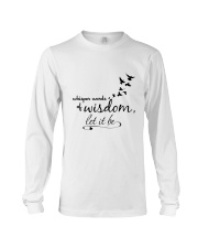 Whisper World Of Wisdom Let It Be Hippie  Long Sleeve Tee thumbnail