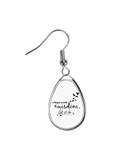 Whisper World Of Wisdom Let It Be Hippie  Teardrop Earrings thumbnail